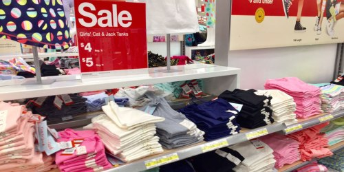 Target Shoppers! Score $2.25 Cat & Jack Tees & Tanks