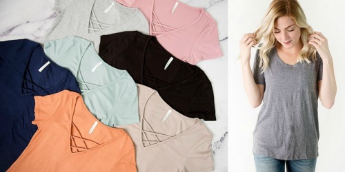 Cents of Style: Women's Tees ONLY $10 Each Shipped (Regularly up to $24.95)