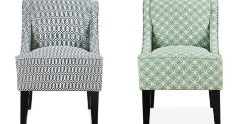 Kohl's: Charlotte Swoop Arm Chair Only $84.99 Shipped (Regularly $249.99) + Earn $10 Kohl's Cash