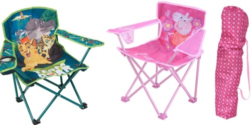 Kohl's Cardholders: CUTE Character Folding Chairs ONLY $8.39 Shipped (Reg. $19.99)