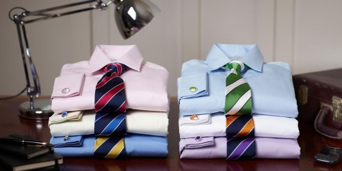 Charles Tyrwhitt Dress Shirts Just $35 (Regularly $100)