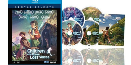 Children Who Chase Lost Voices 4 Disc Blu-Ray/DVD Set Only $8.99