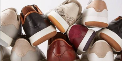 Cole Haan: 30% Off Sitewide Including Sale Items = Men's Sneakers Only $56 (Reg. $150) + More