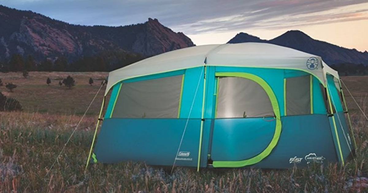 Coleman 8-Person Camping Tent w/ Closet Only $145 Shipped
