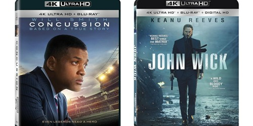 Amazon: Concussion 4K UHD + Blu-ray Movie Only $14.99 (Reg. $34.99) & More