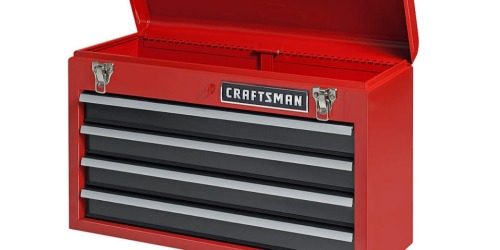 Sears.com: Craftsman 4 Drawer Portable Tool Chest Only $39.99