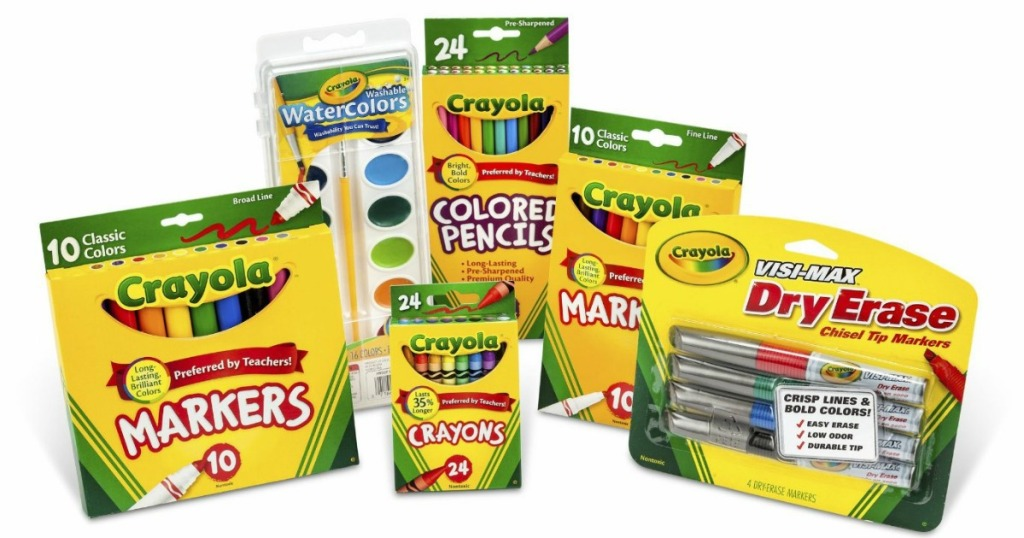 Crayola Back to School Pack