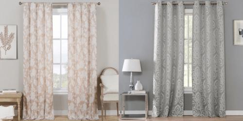 Metallic Jacquard 2-Panel Curtains Only $22.99 Shipped (Regularly $69.99)