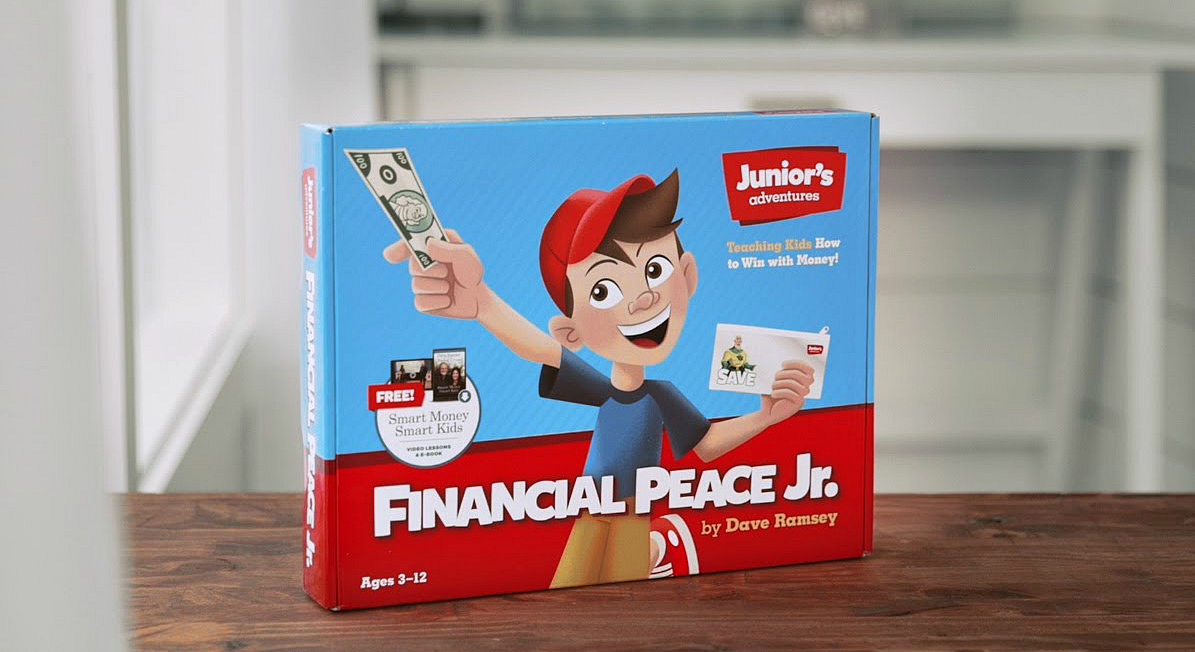 Dave Ramsey Financial Peace Jr. board game