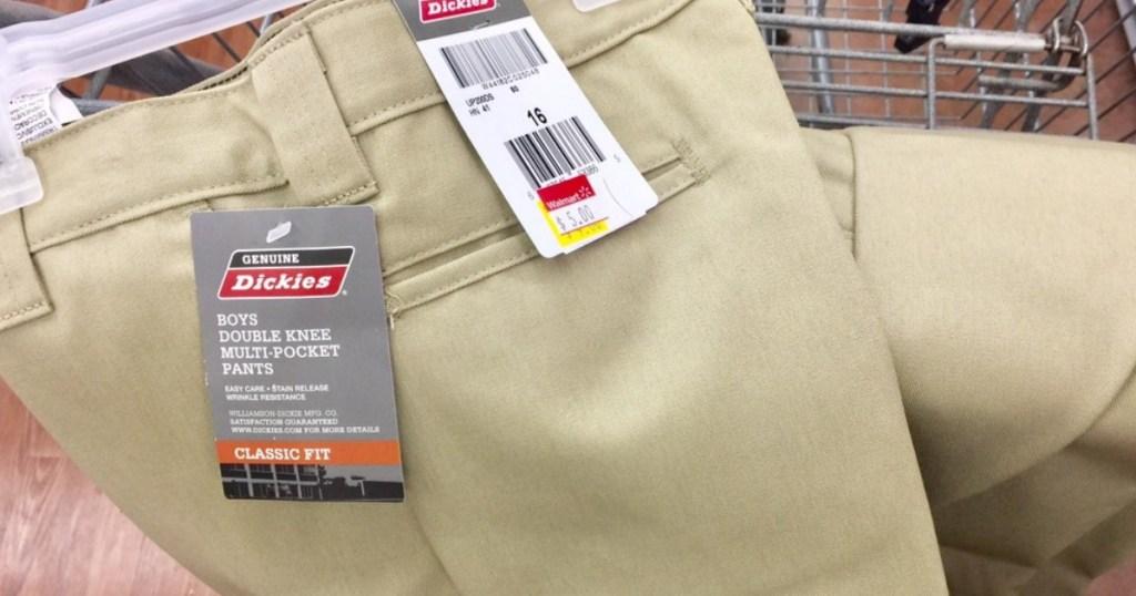 b8002efca11 Walmart Shoppers! Look for Clearance Apparel = Boys Dickies Pants ...