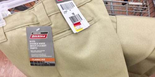 Walmart Shoppers! Look for Clearance Apparel = Boys Dickies Pants Only $5, Tanks Only $1 + More