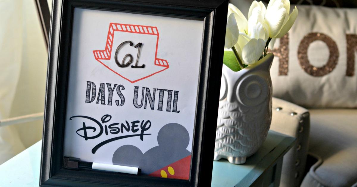 Disney Countdown picture