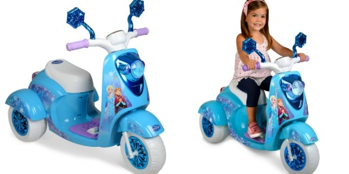 Walmart: Disney Frozen 6-Volt 3-Wheel Scooter Only $69 Shipped (Regularly $99)