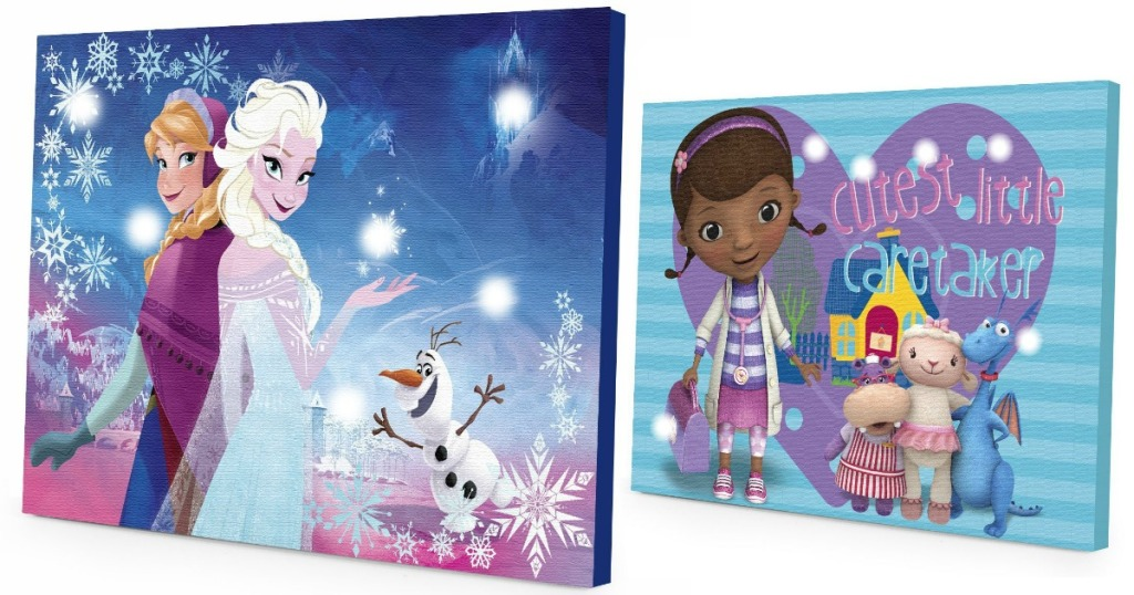 Disney Light Up Canvas Wall Art Starting At Just 3 85
