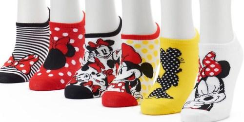 Kohl's Cardholders: 6 Pack Women's Disney Socks Only $6.29 Shipped ($1.05 Per Pair!)