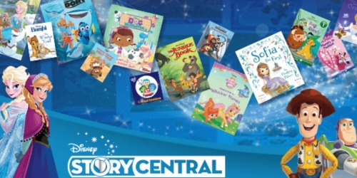 Disney Story Central: Over 25 FREE Disney eBooks (Frozen, Toy Story, Little Mermaid & More)