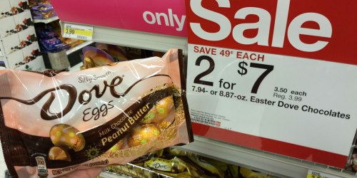 Target: Dove Chocolate Bags ONLY $1.08 & Candy Bunnies $2 + More Easter Deals