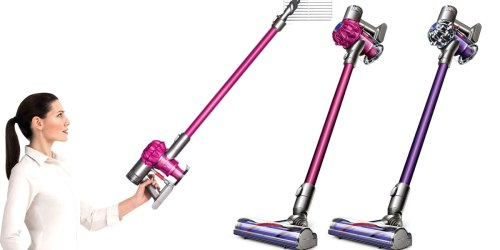 Refurbished Dyson V6 Motorhead Cordless Vacuum Only $176 Shipped (Regularly $400)