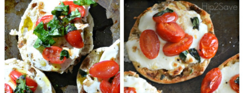 English Muffins Caprese Pizzas Recipe