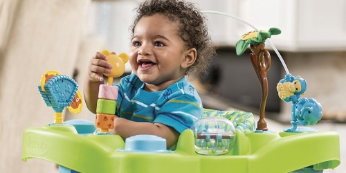Evenflo Bounce & Learn Zoo Friends Exersaucer As Low As $33.29