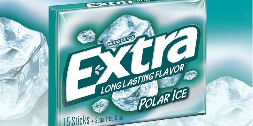 Amazon Prime: TEN Packs of Extra Sugarfree Gum Only $5.25 – Just 53¢ Each (Ships w/ $25 Order)