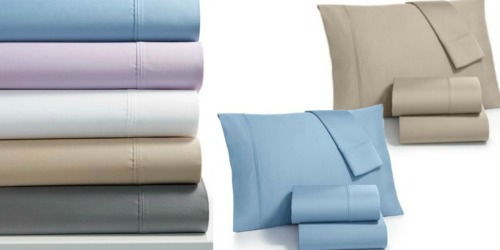 Macys.com: Fairfield 1000 Thread Count Sheet Set Only $39.99 (Regularly Up To $200) + More