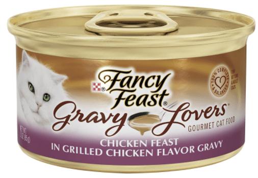 Fancy Feast Gourmet Lovers Canned Cat Food