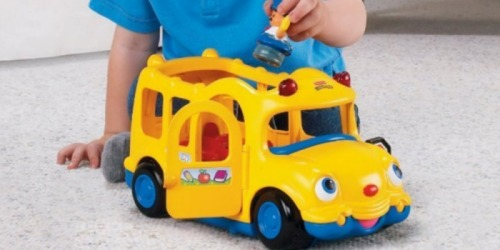Fisher-Price Little People Lil' Movers School Bus Only $9.84 (Includes 3 Little People Characters)