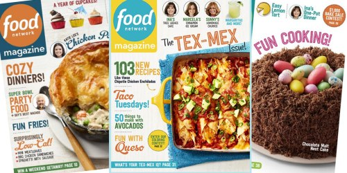 Food Network Magazine: 3 Year Subscription Only $19.99 (Just 67¢ Per Issue)