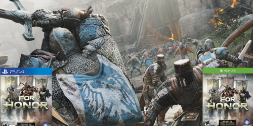 Amazon: For Honor Xbox One and PlayStation 4 Games Only $34.99 (Regularly $59.99)