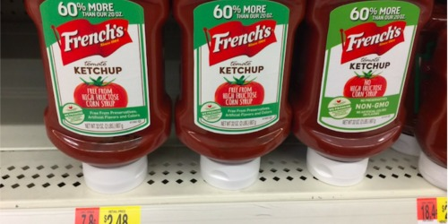 Walmart & Target: French's Ketchup & Mustard UNDER 50¢ Each (NO Coupons Needed)
