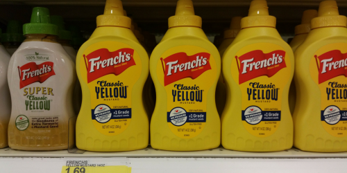 THREE Bottles Of French's Mustard Better Than FREE At Target