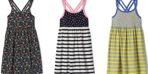 GAP: 40% Off Entire Purchase Including Sale Items = Girl's Dresses Only $8.99