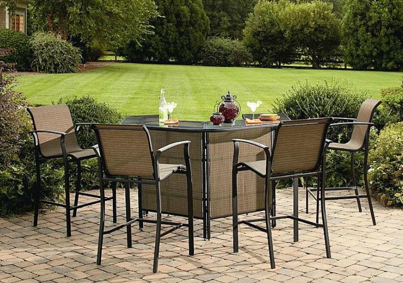 Fantastic Sears Com 5 Piece Garden Oasis Cusion Set Only 269 99 Home Interior And Landscaping Eliaenasavecom