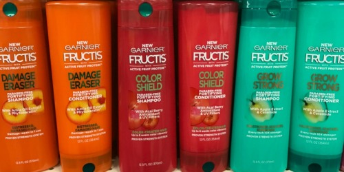 NEW $1/1 Garnier Fructis Coupon = 12-13oz Shampoo Only $1.50 Each at CVS