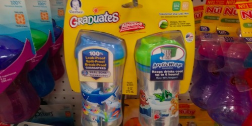 Target: Gerber Graduates Sippy Cup 2-Packs Only $3.94 (Just $1.97 Each)