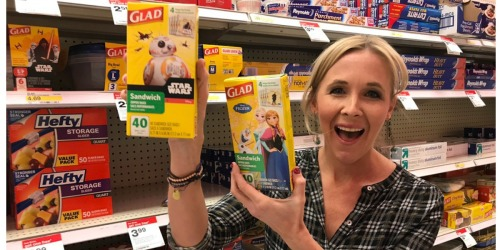 Target Shoppers! Buy 3 Get 1 Free Glad Sandwich Bags & Containers, Reynolds Foil & More