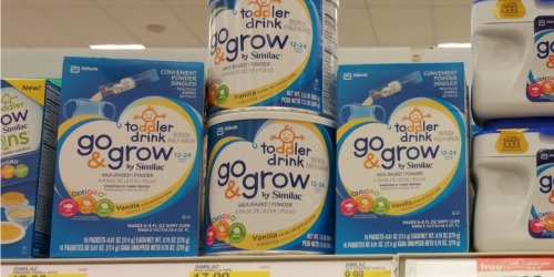Target: Similac Go & Grow Formula Tubs 24oz Only $8.99 Each (After Gift Card)