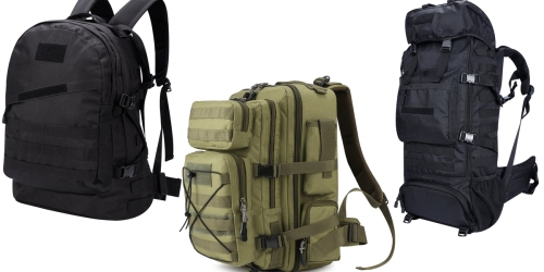 Amazon: Gonex Tactical Military Backpack Only $32  + More Deals