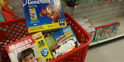 Huggies GoodNites Value Packs Only $15.49 After Target Gift Card + More