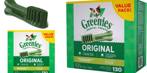 PetSmart: FREE Shipping No Minimum + Buy 1 Get 1 Free HUGE Packs of Greenies Dog Treats