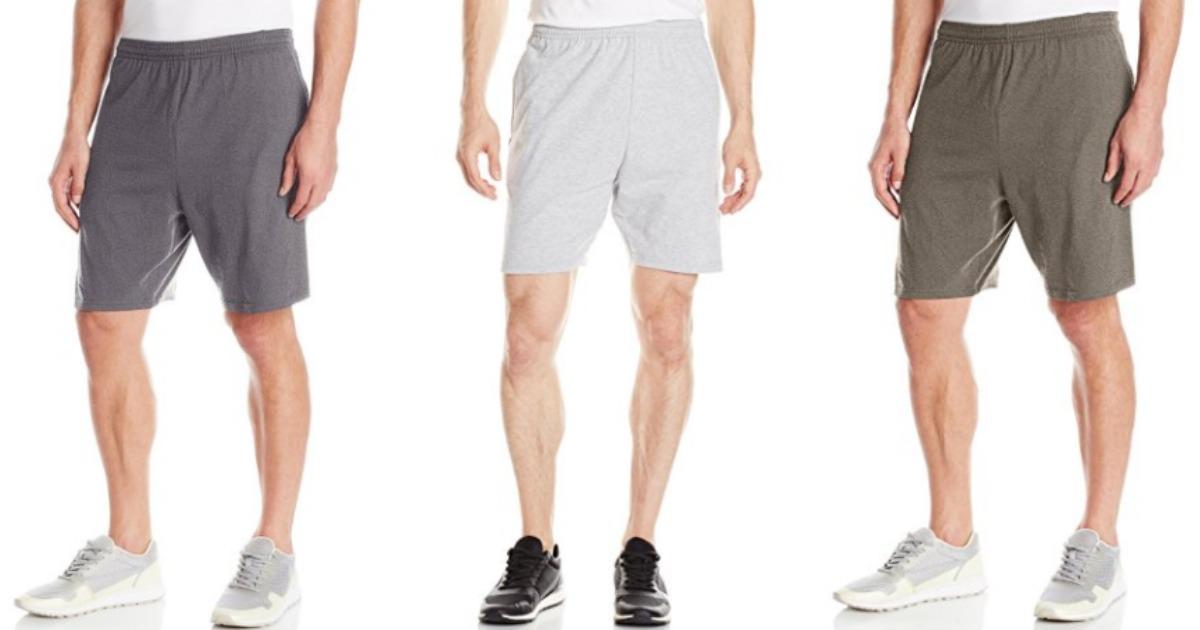 hanes mens shorts