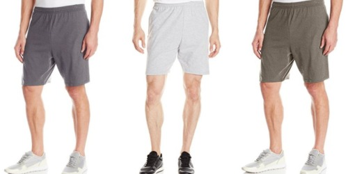 Amazon: Men's Hanes Jersey Shorts Only $3.03 (Ships with $25+ Order)