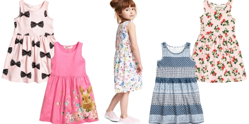 H&M.com: FREE Shipping + Spring Sale = Girls' Patterned Dresses ONLY $4.99 Shipped & More