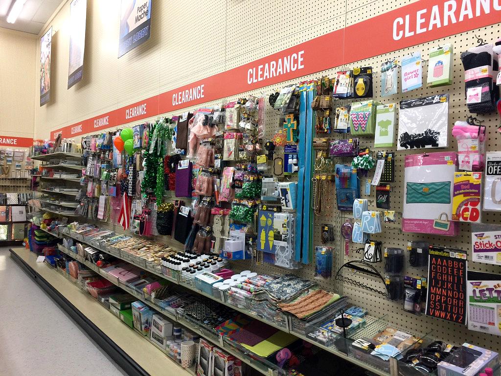 Hobby Lobby clearance section