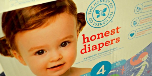 WOW! 12 Packs of The Honest Co. Diapers & 8 Packs of Wipes $79.95 Shipped (ONLY $4 Each)
