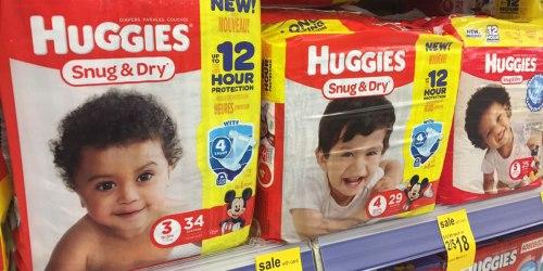 Walgreens: Huggies Diapers & Pull-Ups Jumbo Packs Just $4 Each After Register Reward