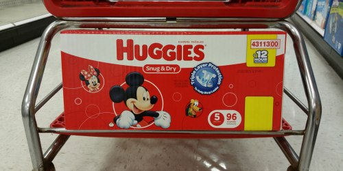 Target Shoppers! Don't Miss Your Chance to Score Cheap Huggies & Pampers Diapers