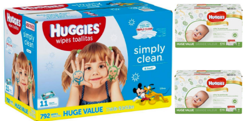 Target: Huggies Baby Wipes Only $10.74 Per HUGE Box After Gift Card (Just 1.3¢ Per Wipe)