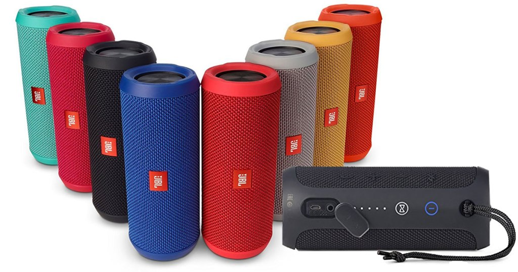 Amazon Jbl Flip 3 Portable Splashproof Bluetooth Speaker Only 64 Shipped Regularly 99 Hip2save